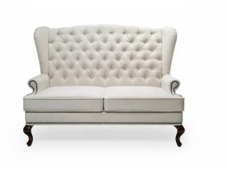 Белый диван Divano GM 09 - Мебельная фабрика «Галерея Мебели GM»
