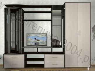 Светлая гостиная со шкафом Диана 2  - Мебельная фабрика «Ангелина-2004»