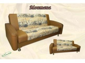 Прямой диван Монтана - Изготовление мебели на заказ «Лига»