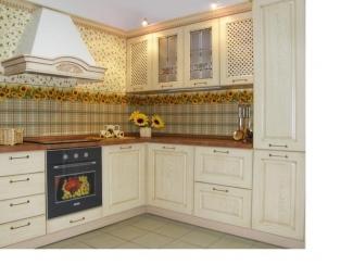 Светлая угловая кухня  - Мебельная фабрика «Найди»
