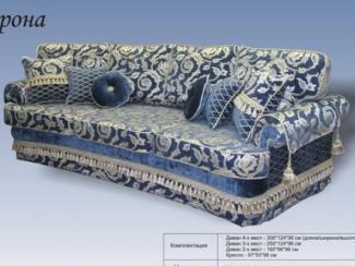 Диван прямой «Верона 1» - Изготовление мебели на заказ «1-я мебельная компания», г. Нижний Новгород