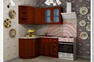 Кухня угловая Вита-Гарвард - Мебельная фабрика «ВМК-Шале»