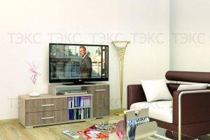 ТВ тумба Парус 3 - Мебельная фабрика «ТЭКС»
