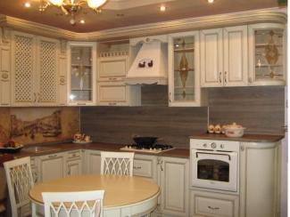 кухня угловая Констанция массив