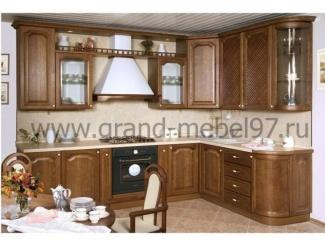 Кухня массив 01 - Мебельная фабрика «Гранд Мебель»