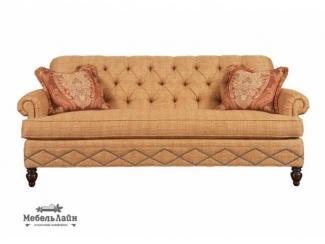 Роскошный классический диван Кристиан с ножками из дерева - Мебельная фабрика «МебельЛайн»