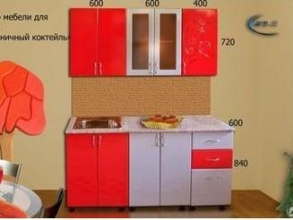 Набор мебели для кухни Клубничный коктейль - Мебельная фабрика «МВМ»