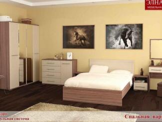 Спальня Квадро вариант 4 - Мебельная фабрика «Элна»