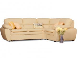Угловой диван «Калькутта» кожа
