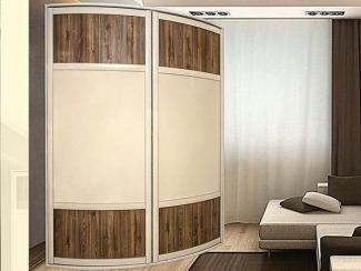 Радиусный шкаф купе - Мебельная фабрика «Бакаут»