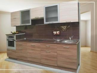 Кухонный гарнитур прямой Ясень Шимо - Мебельная фабрика «Эстель»