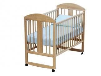 Кроватка детская колесо-качалка Цветочек - Мебельная фабрика «Гном», г. Брянск