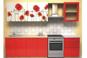 Кухонный гарнитур Маки - Мебельная фабрика «Союз-мебель»