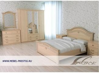 Модульная спальня Милано  - Мебельная фабрика «Престиж»
