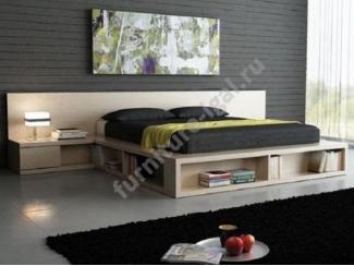 Удобная двухспальная кровать  - Изготовление мебели на заказ «Игал»