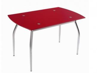 Стол обеденный Красный перламутр