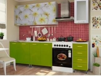 Кухня с фотопечатью - Мебельная фабрика «Мебельный комфорт»