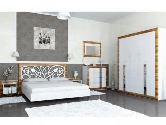 Спальный гарнитур Лотос - Мебельная фабрика «Мебель-Неман»