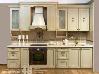 Кухонный гарнитур прямой Гармония 5 - Мебельная фабрика «Камеа (Квартира 48)»