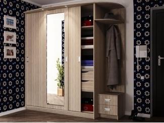 Большой шкаф-купе Андора - Мебельная фабрика «ИнтерЛиния»