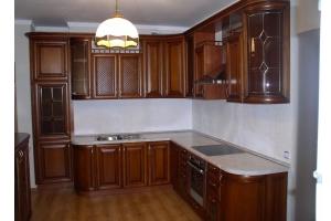 Кухня из массива дерева 04 - Мебельная фабрика «МеТра», г. Москва