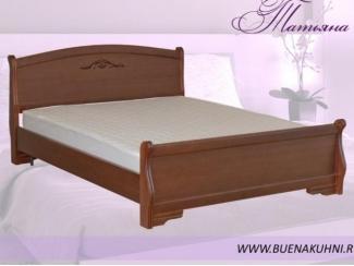 Кровать из дерева Татьяна  - Мебельная фабрика «Buena»