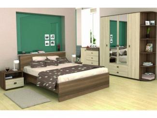 Спальный гарнитур Эрика - Мебельная фабрика «Альбина»