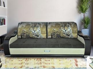 Диван прямой Комфорт Леопард