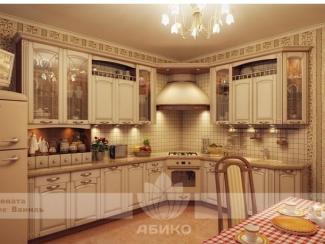 Кухня Соната Ваниль - Мебельная фабрика «Абико»