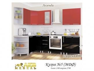 Кухня МДФ 5 Легенда - Мебельная фабрика «Лев Мебель»