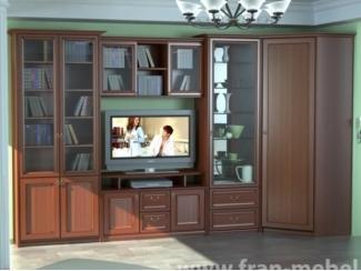 Модульная гостиная в строгом стиле Венеция - Мебельная фабрика «Фран»