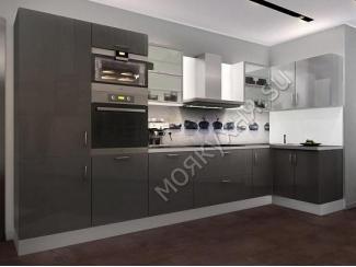 Удобная глянцевая кухня - Мебельная фабрика «Моя кухня», г. Санкт-Петербург