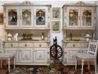 Кухонный гарнитур прямой Зима - Мебельная фабрика «Грин Лайн»