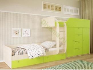 Двухъярусная кровать Виолет - Мебельная фабрика «Фиеста-мебель»