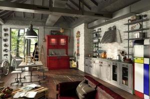 Кухонный гарнитур Loft - Мебельная фабрика «Трио», г. Ульяновск