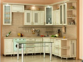 Кухня угловая Дебби патина - Мебельная фабрика «Вариант М»