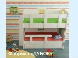 Детская кровать телескоп двухъярусная  - Мебельная фабрика «Дубок»