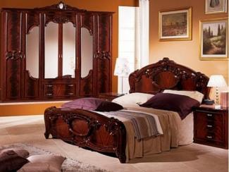 Спальный гарнитур «Ольга могано» - Оптовый мебельный склад «Дина мебель»