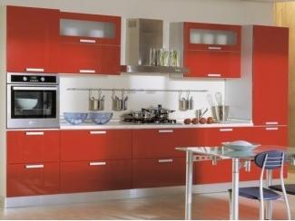 Кухня оранжевая Ксения - Мебельная фабрика «Мебель Цивилизации»