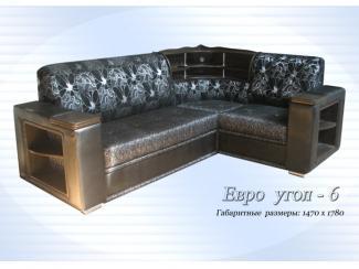 Диван Евроугол 6 - Мебельная фабрика «Антонов», г. Ульяновск