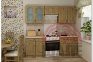 Кухня прямая Дельта-Гарвард - Мебельная фабрика «ВМК-Шале»