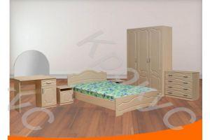 Спальный гарнитур Венеция 3 - Мебельная фабрика «Крокус»