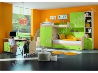 Зеленая детская Милано  - Мебельная фабрика «Триана»