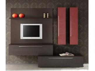 Небольшая навесная гостиная  - Мебельная фабрика «Перспектива»