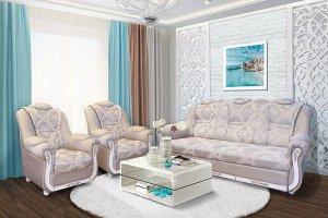 Диван прямой Ахтамар 1 - Мебельная фабрика «Ахтамар», г. Барнаул