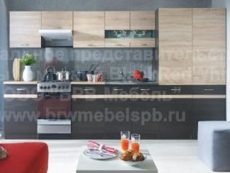 Кухня прямая Юнона - Импортёр мебели «БРВ-Мебель (Black Red White)»