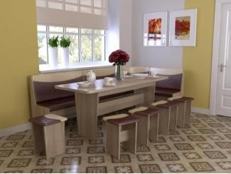 Кухонный уголок Титул 5 - Мебельная фабрика «Алсо»