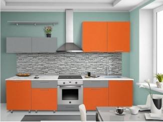 Прямая кухня Мандариновая радость