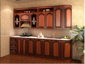 Кухня прямая Бренди патина - Мебельная фабрика «Вариант М»