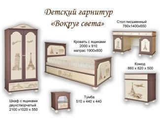 Детская Вокруг Света - Мебельная фабрика «Прометей»
